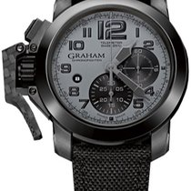 Graham Chronofighter Oversize Black Arrow 2CCAU.S01A
