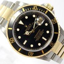 Rolex SUBMARINER DATE FROM 2008 18K GOLD /STEEL 16613 LN M-SERIES