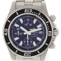Breitling Aeromarine Superocean S/S A13341 W/ Box & Papers