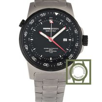 Momo Design Titanium GMT 46mm Black Dial NEW