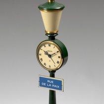 Jaeger-LeCoultre Rue De La Paix, Green Table Clock 1975ca