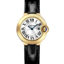 Cartier W6900156 Ballon Bleu - Mid Size - Yellow Gold on Strap...
