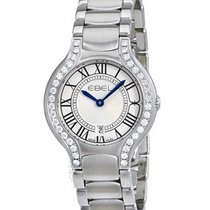 Ebel 1216069 Beluga in Steel with Diamond Bezel - on Steel...