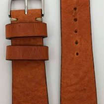 Kaufmann Saddle Vintage Lederband orange 22/18mm 2045 42