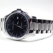 Hamilton JAZZMASTER VIEWMATIC AUTO Black Dial-Steel Bracelet 40mm
