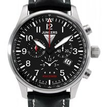 Junkers Hugo 6684-2 Herrenuhr Alarm-Chronograph