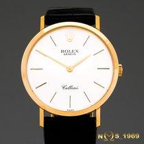 Rolex Cellini   4112  18K Gold  Men's  Box Papers