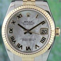 Rolex Datejust, Ref. 178273 - weiß Perlmutt römisch ZB/Jubilee...