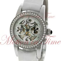 Girard Perregaux Ladies Small Chronograph, White Skeleton...