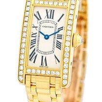 """Cartier Diamond """"Tank Americaine""""."""