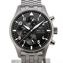 IWC Fliegeruhr 43 Automatic Day Date Steel