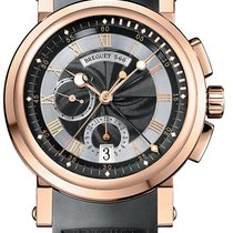 Breguet Marine Chronograph Mens 5827br/z2/5zu