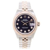 勞力士 (Rolex) Lady Datejust 18k Rose Gold And Steel Purple...