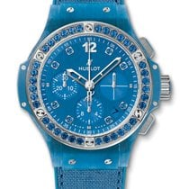Hublot : 41mm Big Bang Blue Linen Watch