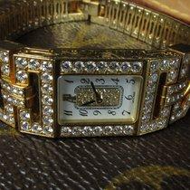 Audemars Piguet Charleston Full Pave Yellow Gold Diamond Bracelet