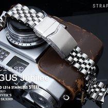 MiLTAT ANGUS Jubilee Watch Bracelet for Seiko SKX007