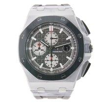 Audemars Piguet AP Royal Oak Offshore  44mm Titanium Watch...