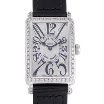 Franck Muller Long Island Womens Quartz Stainless Steel Watch...
