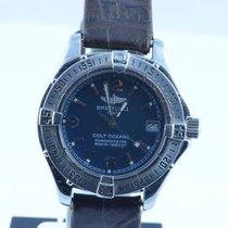 Breitling Colt Oceane Quartz Damen 32mm Blau Top Zustand A77350