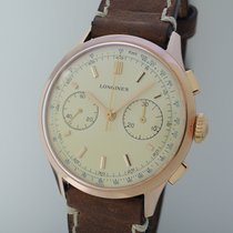 Longines Chronograph CH30 Vintage 1963 -Ros?Gold 18k/750 -