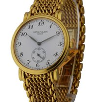 Patek Philippe 5022/1J 5022 Yellow Gold Calatrava - on Yellow...