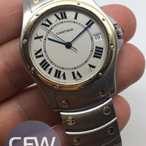 Cartier Santos Ronde Automatic Gold and steel