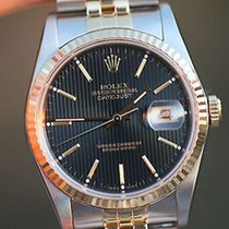 Rolex Datejust Mens 18k Yellow Gold Stainless Steel Model...
