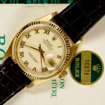 Rolex Datejust 16018 gold punched papers 1982