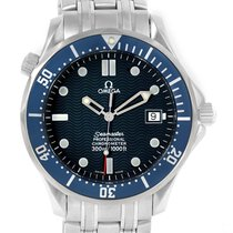 Omega Seamaster 300m Blue Dial Stainless Steel Watch 2531.80.00