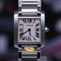 Cartier Tank Francaise Ladies Small Quartz 2384 (mint)