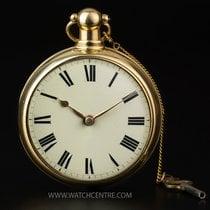 Pocket Watch Swiss 14k Yellow Gold Full Hunter ¼ Repeater...