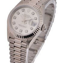 롤렉스 (Rolex) Used Ladies White Gold President 79179