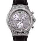 Technomarine Diva No. 0042 All Diamond Watch on Leather Strap
