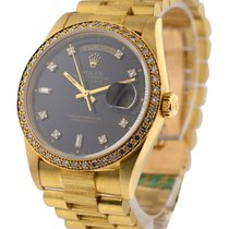 Rolex Used 18248_used_bark_blk_dd President Day Date with Bark...