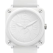 Bell & Ross BR S Quartz 39mm BRS White Ceramic Phantom...