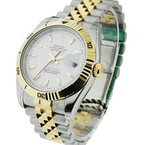 Rolex Unworn 116263 Turn-O-Graph Mens Datejust - 2-Tone YG/SS...