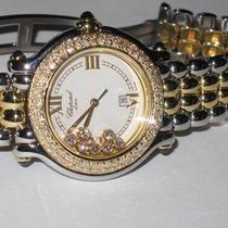 Chopard Happy Sport 18K Solid Gold Diamonds