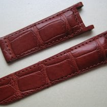 Cartier NEW PASHA WATCH STRAP BAND BROWN ALLIGATOR  LEATHER