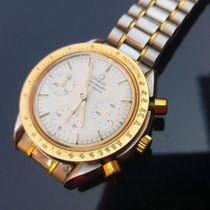 Omega Speedmaster Reduced 39mm Steel Gold - FULL SET 1990 Vintage