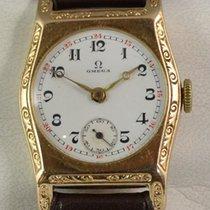 Omega Damenuhr 14ct. gold, Vintage 20/30iger Jahre