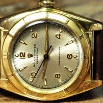 Rolex Bubble Back 18k Yellow Gold Vintage