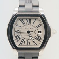 Cartier Roadster Large Steel Rubber Ref 3312 (Box&Papers)