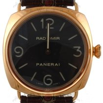 Panerai PAM 231 2006 Gnts 18kt Rose Gold Radiomir Base Black Dial