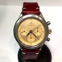 Hamilton Chronograph Stainless Steel Men's Watch In Box