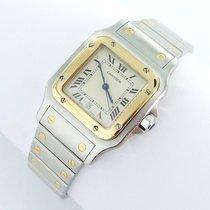 Cartier Santos Galbee Herren Uhr Stahl/gold