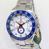 Rolex Yacht-Master II Steel Blue Ceramic Bezel Mens Watch...