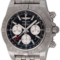 Breitling : Chronomat GMT 44 :  AB042011/BB56 :  Stainless Steel