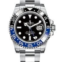 Ρολεξ (Rolex) GMT Master II Black Dial Stainless Steel 116710BLNR