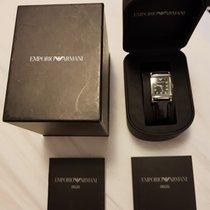 Armani Ar0207 - Unisex Leather Designer Quartz Watch