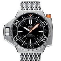 Omega Seamaster Ploprof 1200 M Black Dial  R
